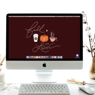 "October's ""Fall in Love"" Desktop Download"
