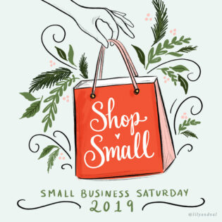 FREE SMALL BUSINESS SATURDAY GRAPHICS TO SHARE THE SHOP SMALL LOVE THIS HOLIDAY SEASON