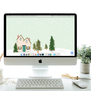 "December's ""Snowy Day"" Desktop Download"