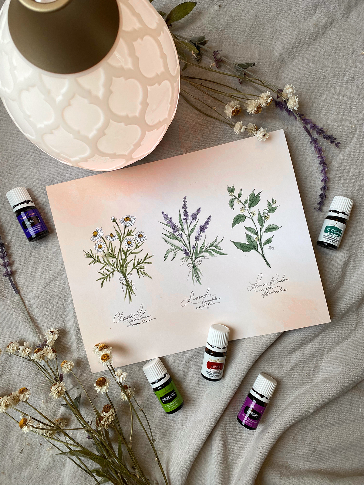 Using Young Living Essential Oils for Wellness