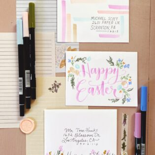 Easter Snail Mail Ideas