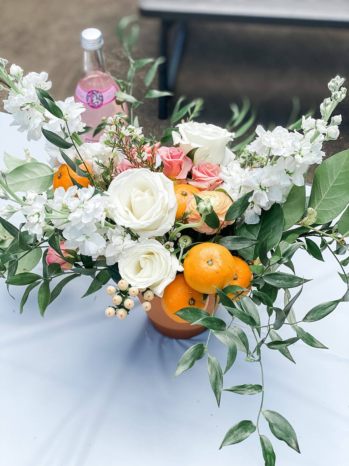 "Floral and Citrus inspiraton | ""Little Cutie"" First Birthday Party"