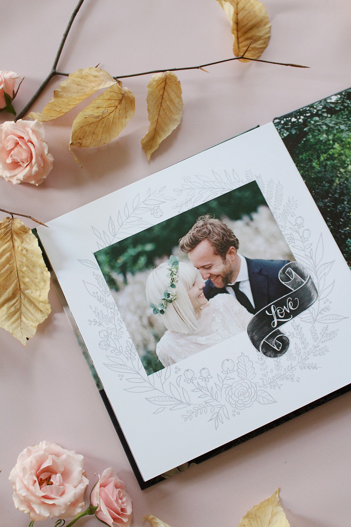 Lily & Val For Mixbook Custom Wedding Photo Books