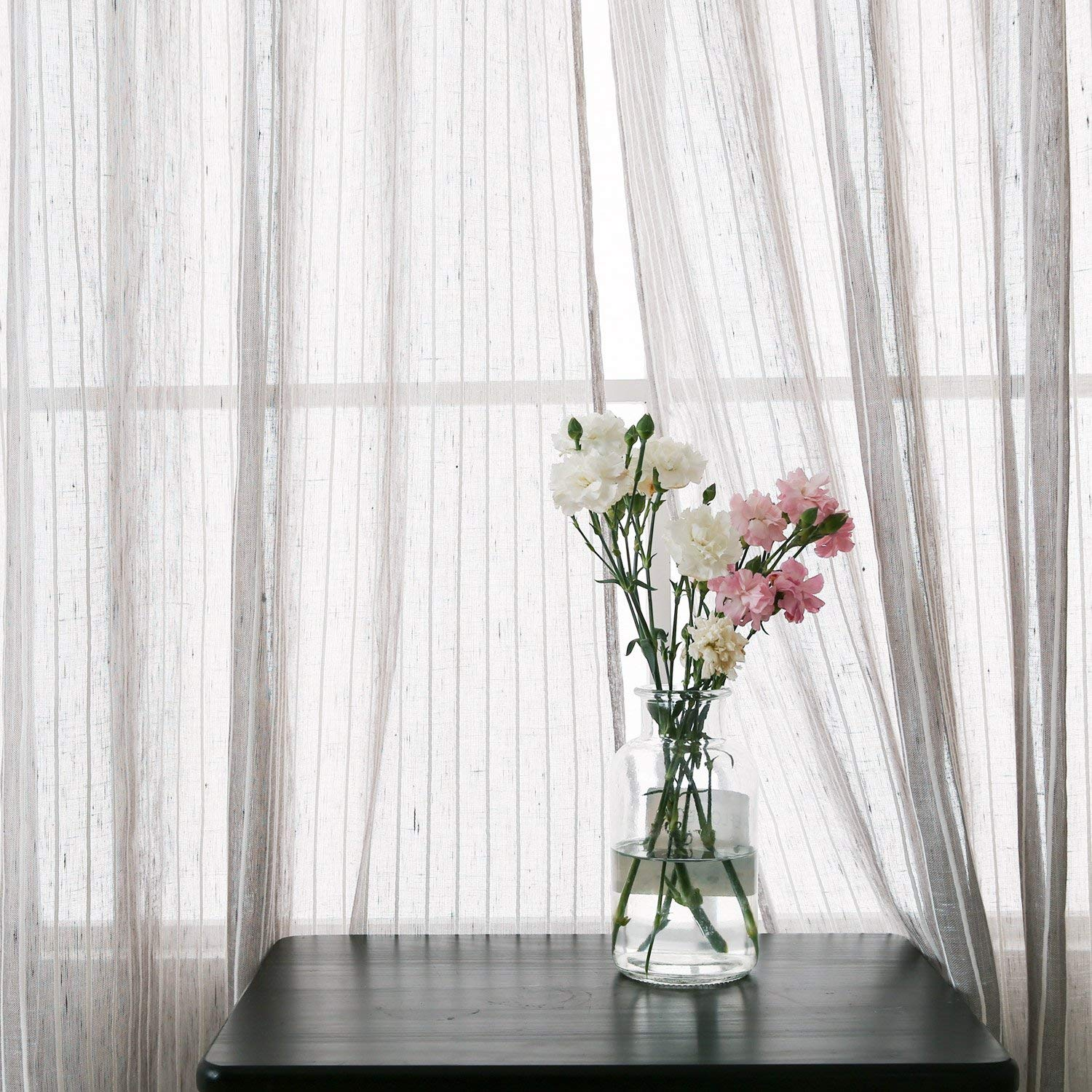 These curtains are light weight and have just enough detail for any space.