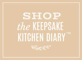 Shop the best-selling Keepsake Kitchen Diary only from Lily & Val
