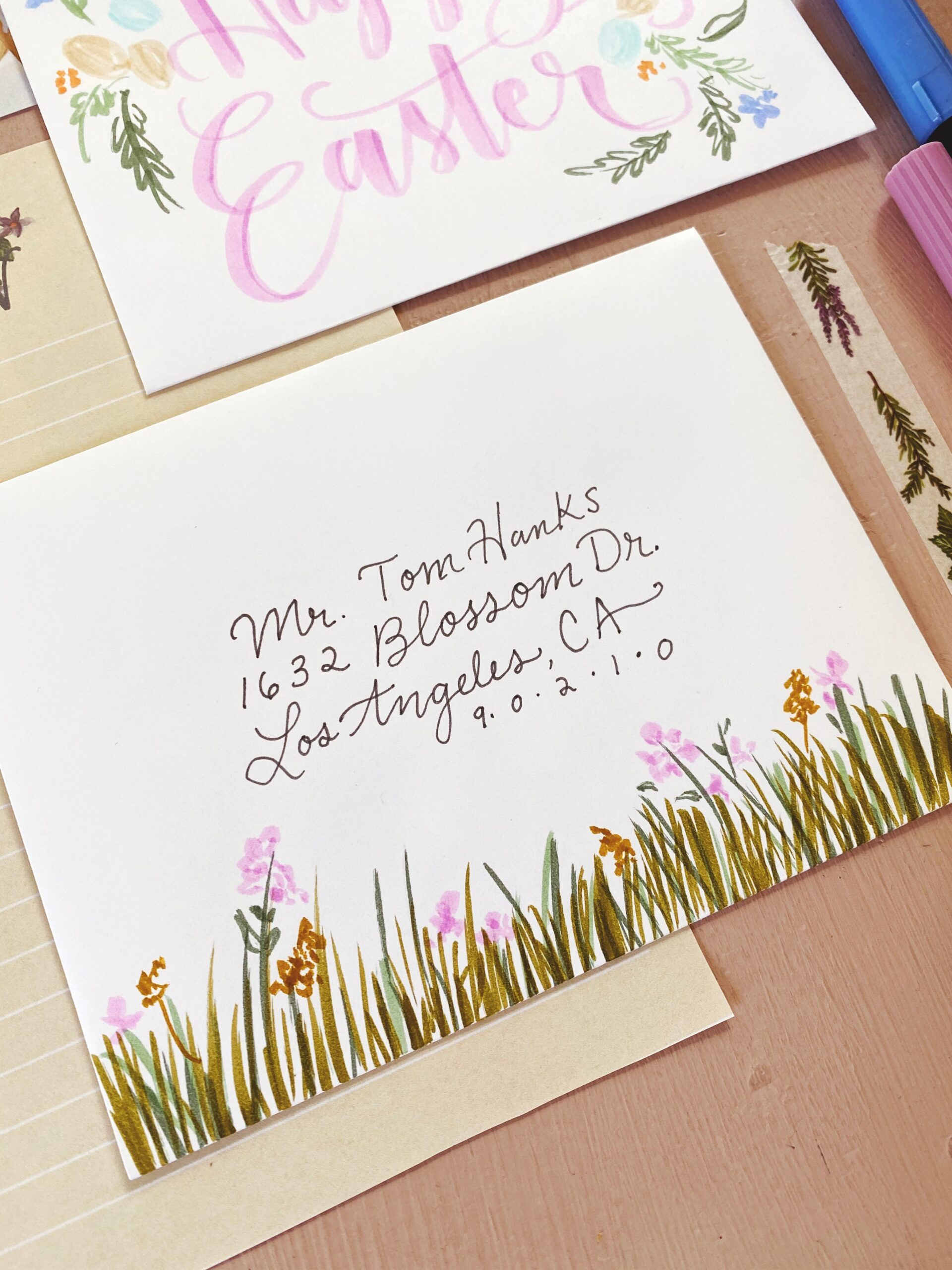 Easter Snail Mail Ideas for National Letter Writing Month | Mail art | Snail Mail Art | Letters