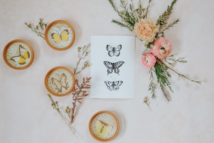 The Language of Flowers: Hand-drawn and illustrated Spring artwork for your Spring decor by Lily & Val.